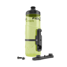 Fidlock Twist Bottle 600 Drinksysteem incl. Mount geel/transparant